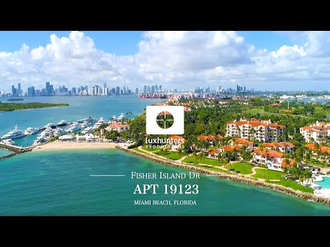Resort Styled Living On Private Club & Island | Fisher Island Apt 19123