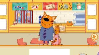 Три Кота: Кукольный домик - Развлечения Котов В Магазине