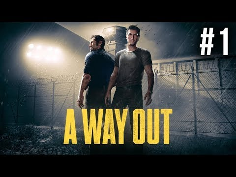 A Way Out Gameplay Early Preview Walkthrough Part 1 - BEST CO-OP GAME ???