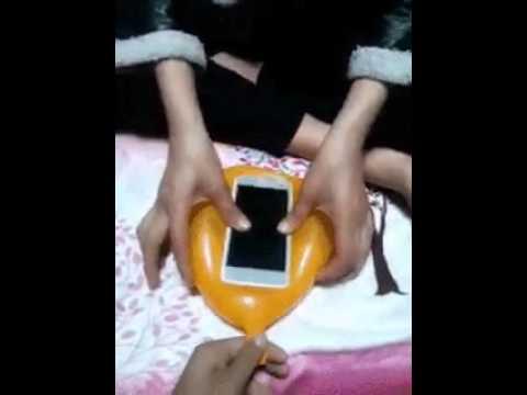 풍선 휴대폰 케이스 만들기 making a phone case with balloon