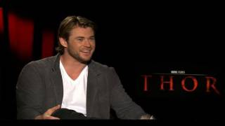 THOR Interviews With Chris Hemsworth, Anthony Hopkins, Tom Hiddleston And Director Kenneth Branagh