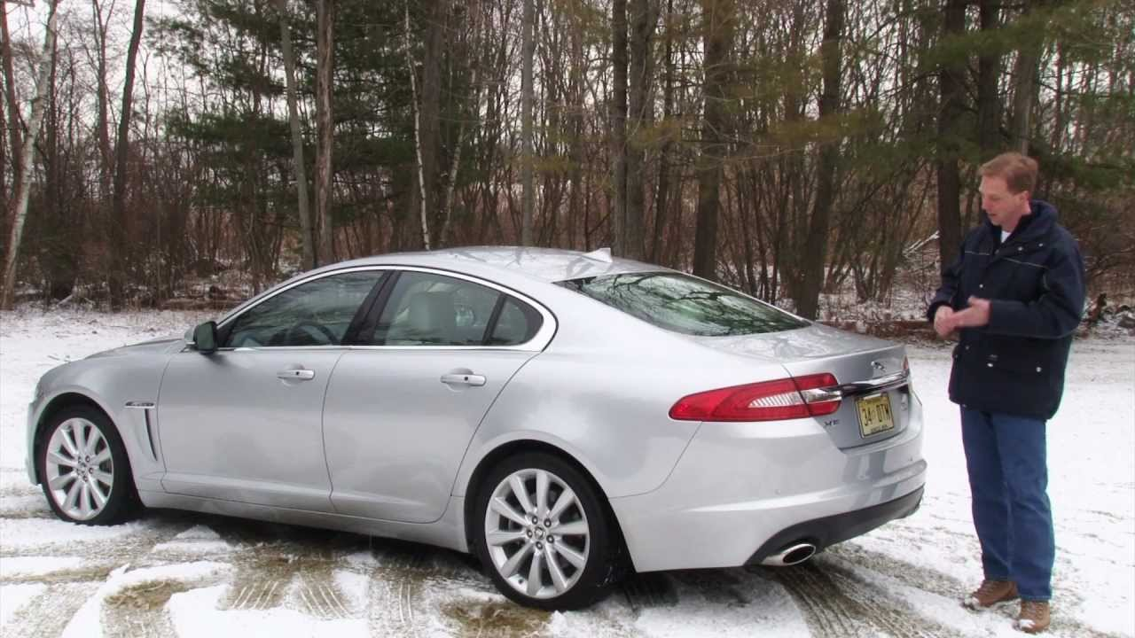 2013 Jaguar XF 3.0 AWD   Drive Time Review With Steve Hammes | TestDriveNow    YouTube
