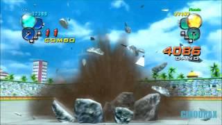 Dragon ball z ultimate tenkaichi: son goku vs piccolo daimaoh jr