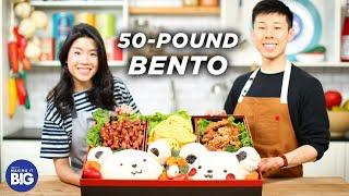 We Made A Giant 50-Pound Bento Box • Tasty