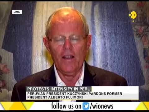 Peru's President pardons former President Fujimori