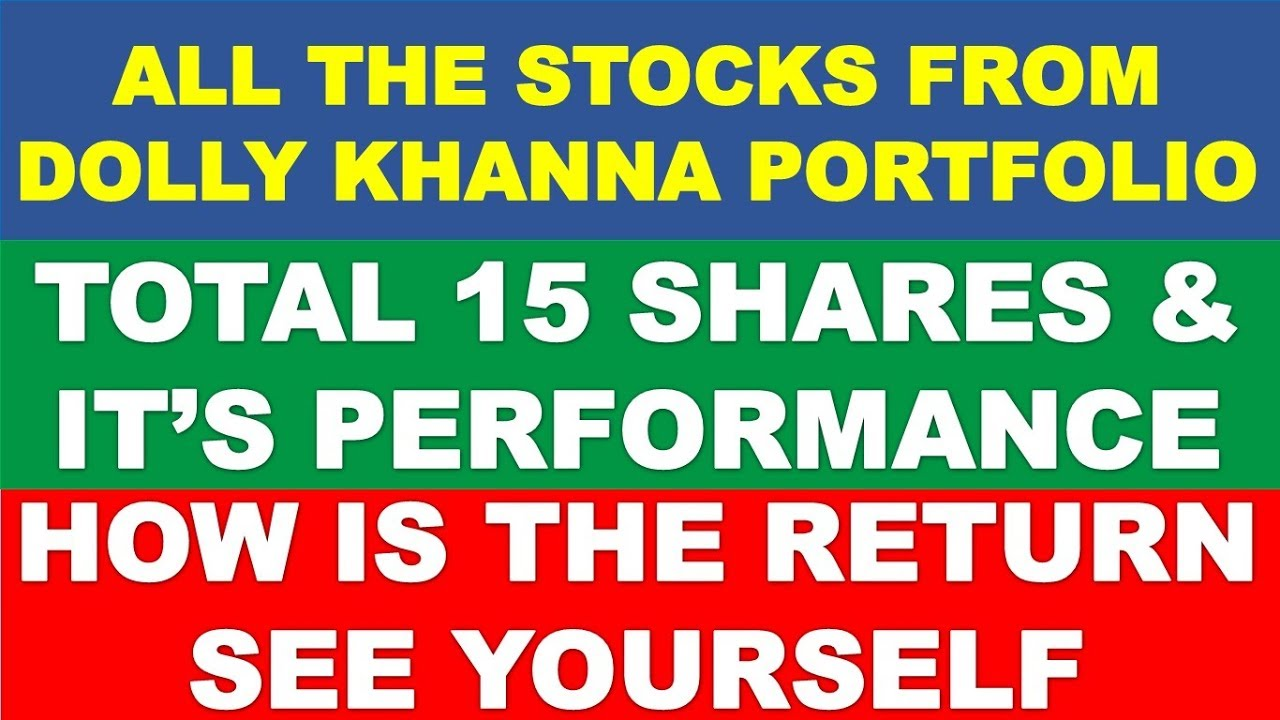 Dolly Khanna Portfolio stock analysis | multibagger shares for 2019 india |  latest stock pick profit