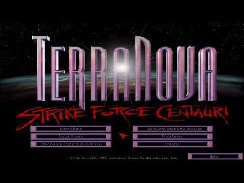 Terra Nova: Strike Force Centaury gameplay (PC Game, 1996)