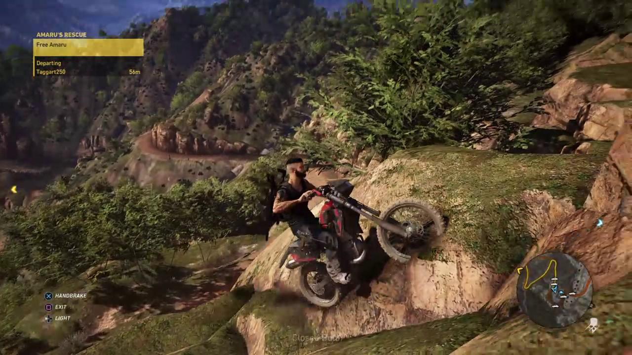Tom Clancy S Ghost Recon Wildlands Bike Physics Youtube