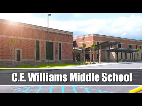 CE Williams Middle School Opening Tour 2020