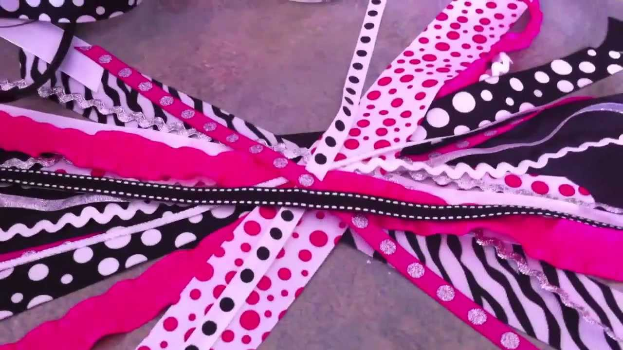 How to Make a Pony O Cheer Bow 44d337f5a5b