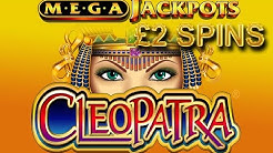 Cleopatra Mega Jackpots Online Slot REAL Play with Free Spins