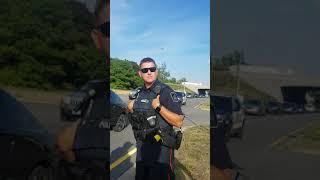 Cops vs tow truck driver