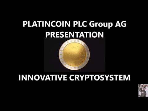 PLATINCOIN. PRESENTATION PLC Group AG INNOVATIVE CRYPTOSYSTE