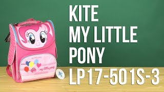 Розпакування Kite My Little Pony 11 л для дівчаток LP17-501S-3