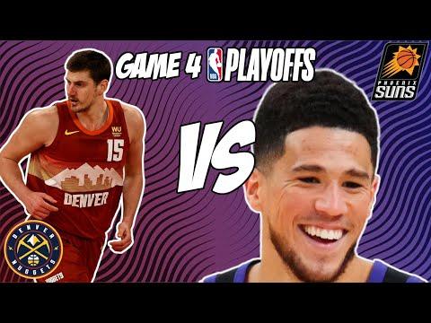 Denver Nuggets vs Phoenix Suns Game 4 6/13/21 NBA Playoff Free NBA Pick & Prediction