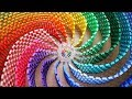 THE AMAZING RAINBOW SPIRAL (12,000 DOMINOES)