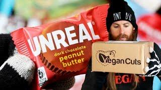 Opening My Vegan Cuts Snack Box OCTOBER