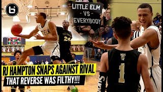 He Switched Shoes At Half And WENT OFF! RJ Hampton VS Rival The Colony