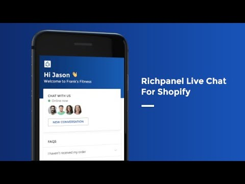 Richpanel Live Chat For Shopify