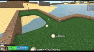 [Tropical!] Mini Golf- ROBLOX Let's Play #6 w/ Friends Commentary HD