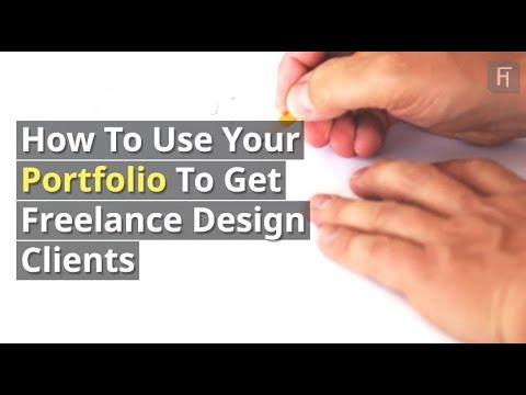 How To Use Your Portfolio To Get Freelance Design Clients