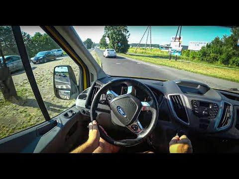 Ford Transit 2017 Pov Test Drive 005 Joe Black Youtube