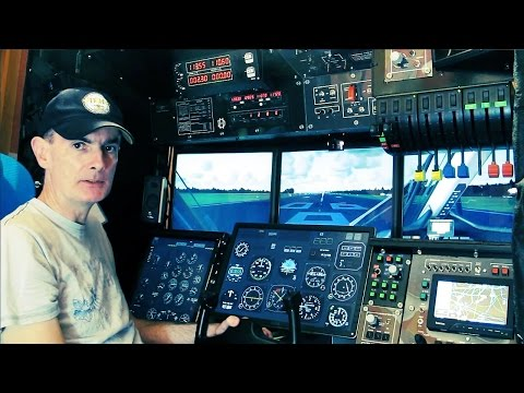 Flying the Twin Otter #1 - ILS/DME approach