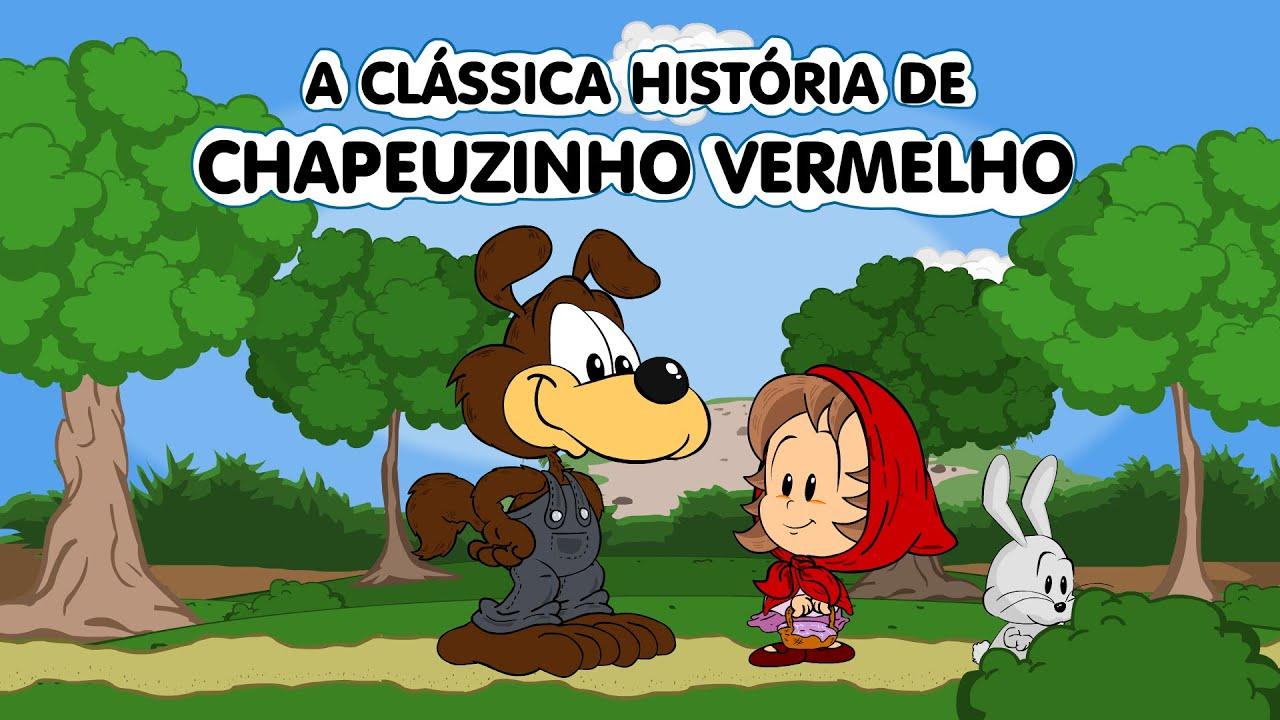 A Classica Historia Da Chapeuzinho Vermelho Em Desenho Animado