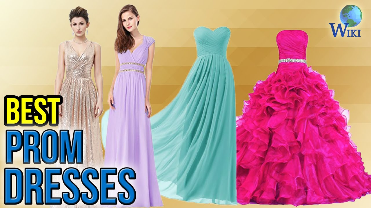 10 Best Prom Dresses 2017 - YouTube