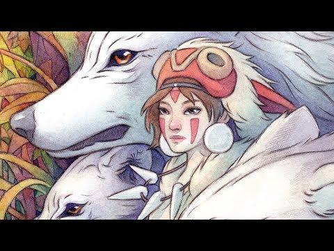 skmoon-art-timelapse---5---princess-mononoke