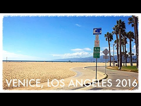Los Angeles, California, USA incl. Hollywood & Venice Beach - BEST VEGAN BURGER EVER!