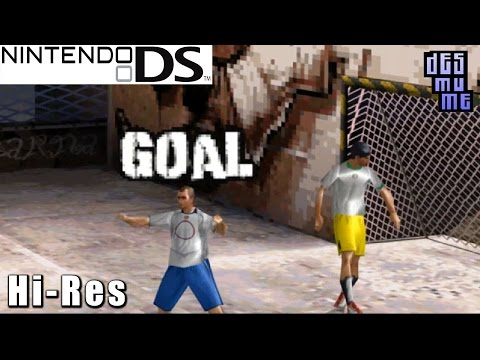 Fifa Street 2 - Nintendo DS Gameplay High Resolution (DeSmuME)