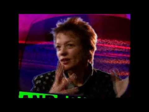 Laurie Anderson Interview 1995 CD-ROM Interactive