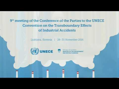 Convention on the Transboundary Effects of Industrial Accidents