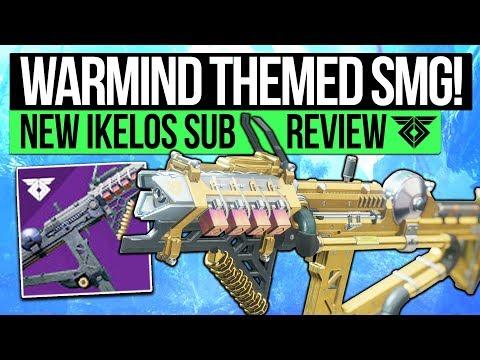 Destiny 2 | RARE NEW SERAPH SMG! The IKELOS Sub Machine Gun: Disruption Break Seraph Weapon!
