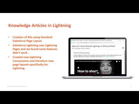 Remedyforce Knowledge articles in Salesforce Lightning