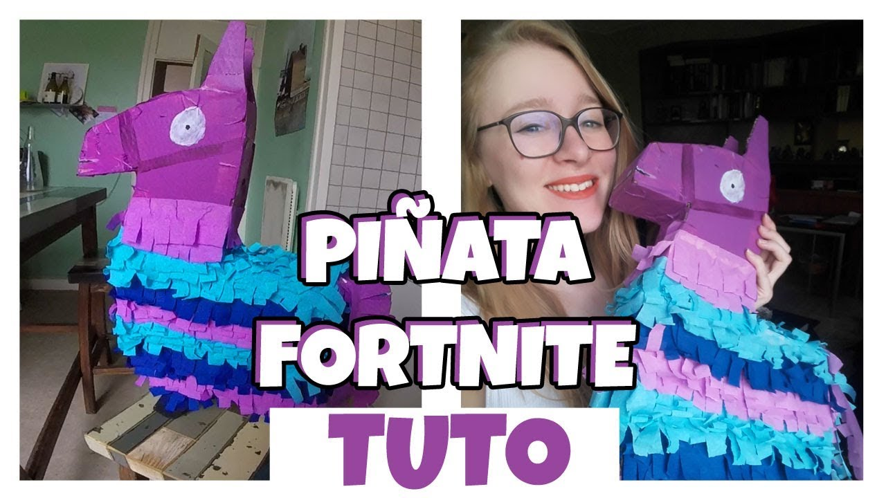 comment faire une pinata lama fortnite youtube. Black Bedroom Furniture Sets. Home Design Ideas