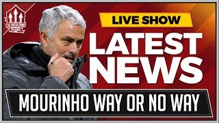 MOURINHO Not Interested In MANCHESTER UNITED Way | MAN UTD News