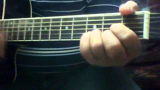Video tutorial - How to play Sad movies always -Video for Guitar chords for the hindi songs
