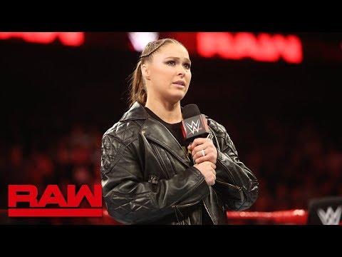 "Ronda Rousey honors Jim ""The Anvil"" Neidhart: Raw, Aug. 13, 2018"