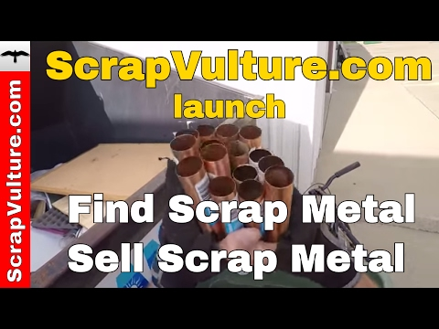 Scrap Metal - How to Make Money Scrapping & Recycling Metal - ScrapVulture Scraping Metal Website