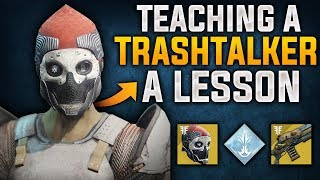 Teaching a Trash Talker a Lesson !