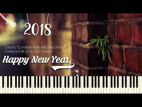 Happy New Year  ABBA  Piano Tutorial
