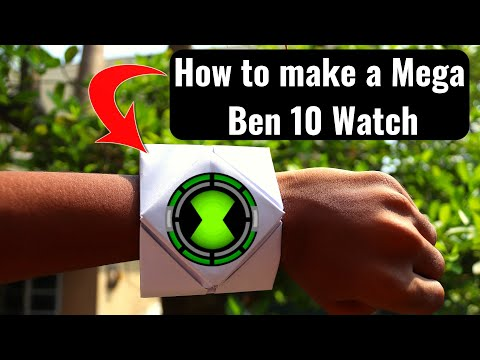 How to make a Ben 10 Watch - STEP BY STEP TUTORIAL