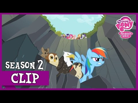 Racing Dash At Ghastly Gorge (May The Best Pet Win!) | MLP: FiM [HD]