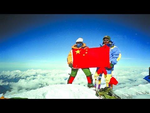 20160119  故事中国  中国人首次登顶珠峰背后的故事:美丽与遭遇雪崩的残酷