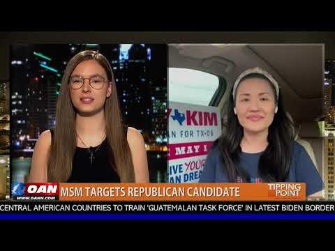 Sery Kim appears on OAN Tipping Point with Kara McKinney
