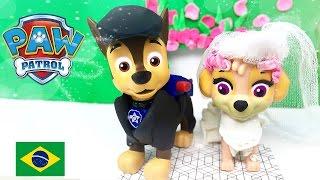 Patrulha Canina Casamento do Chase e Skye  episodio em português Chase se casa com Skye