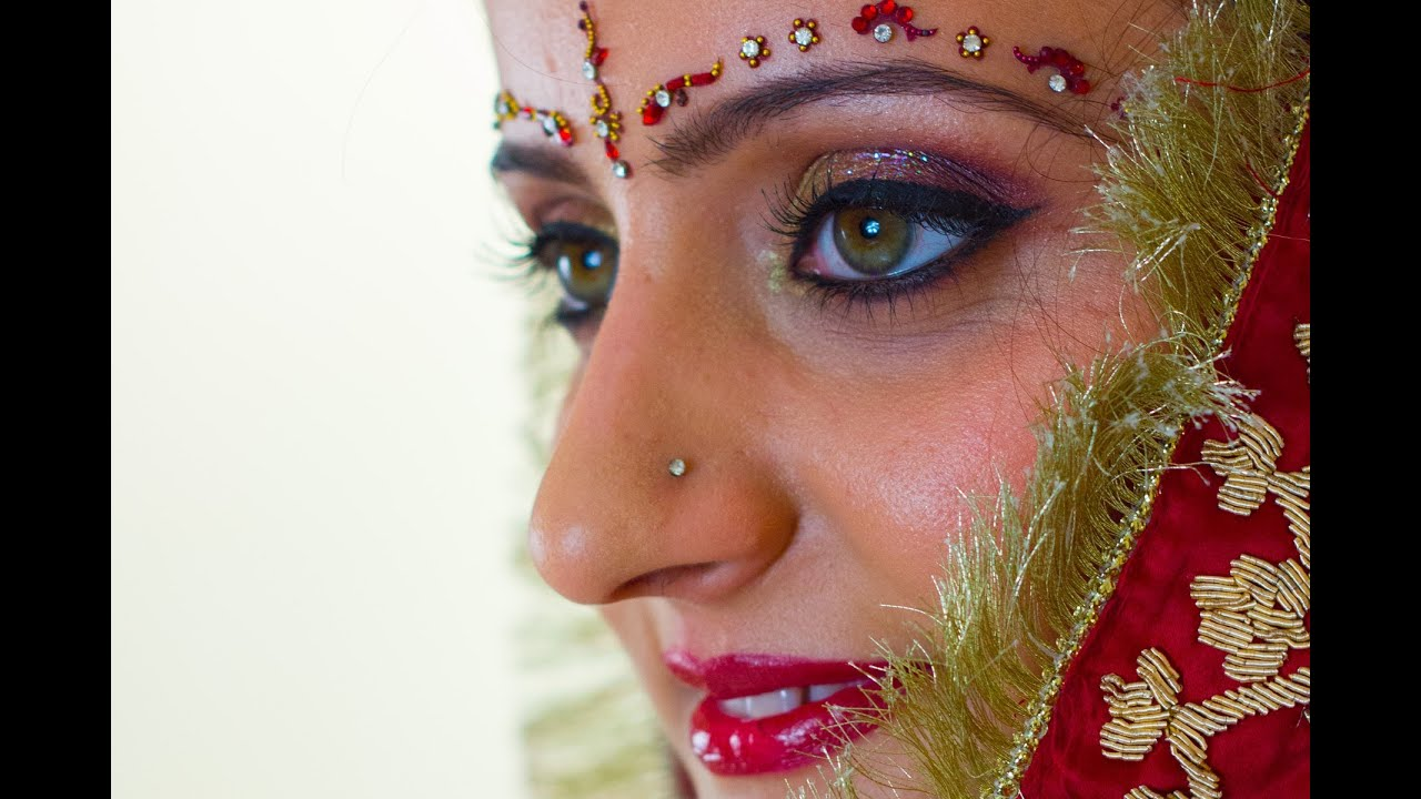 Bridal makeup tutorial for an indian bride youtube bridal makeup tutorial for an indian bride baditri Images