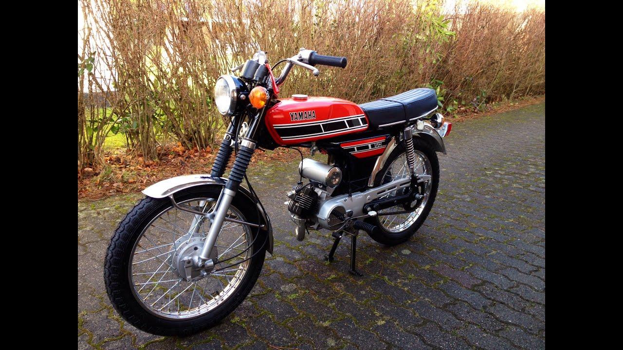 Yamaha FS1 K1 50 Ccm 4 Gear 1977